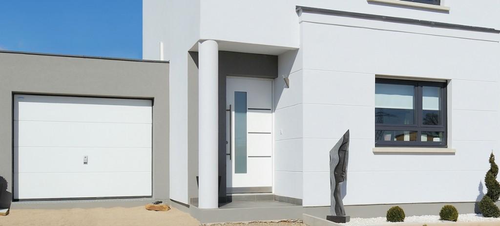 Portes d entr e aluminium cg menuiserie for Porte d entree maison