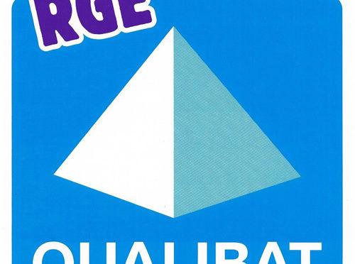Entreprise certifiée Qualibat RGE 2018